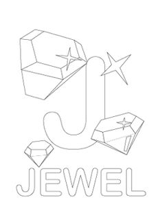 Alphabet coloring pages, Coloring pages and Letter g