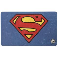 """Tagliere """"Logo"""" di #Superman realizzato in un laminato melaminico (HPL) e rivestito di melammina. Dimensioni: 23,5 x 14,5 cm. Lavabile in lavastoviglie, resistente al calore fino a 150 gradi Celsius e molto resistente ai graffi."""