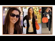 How to Wear an Orange Bag ♥ Celebrity Inspired OOTD ♥ Inspirational Celebrities, Orange Bag, Round Sunglasses, Celebrity, Ootd, Inspired, Youtube, How To Wear, Bags