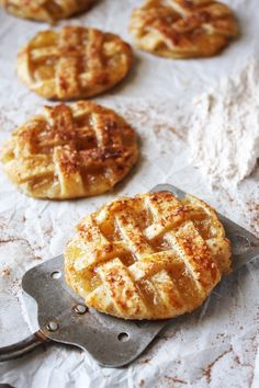 Apple Pie Cookies with Cinnamon Whipped Cream - the most delicious twist on the classic apple pie that you will EVER eat! These things are seriously addicting, and the homemade cinnamon whipped cream takes them to a whole other level! -- TheGarlicDiaries.com