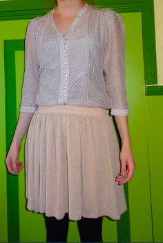 Pastel Devil, Outfit Of The Day, Skater Skirt, Pastel, Skirts, Outfits, Fashion, Today's Outfit, Moda