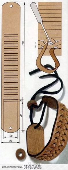 #阿卡手工-皮艺#在阿卡看来,皮艺一直是一种高端又深奥的手工技艺。而皮艺的缝制和布艺缝制却有着天壤之别。一定有小伙伴想要接触皮艺吧?那不如先从初级开始做起吧!皮质的手环,非常适合皮艺新手哦!