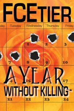 FCEtier Mystery/Thriller Author, A Year Without Killing third book in series. Read it online. Interview here.