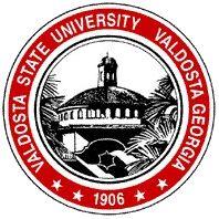Valdosta State University seal  featuring West Hall rotunda