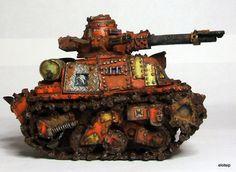 40k Orks Maxmini Scrap Tank, Ork Looted Wagon