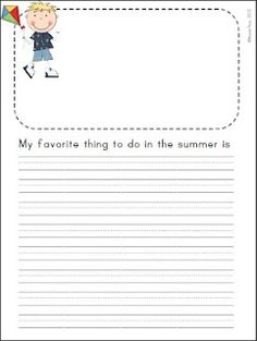 Countdown to Summer! One month of meaningful writing topics to see you through to the end of school. UPDATE: Now includes intermediate and primary-lined version. Writing Topics, Work On Writing, Narrative Writing, Letter Writing, Writing Prompts, Writing Sentences, Writing Workshop, Journal Prompts, 2nd Grade Writing