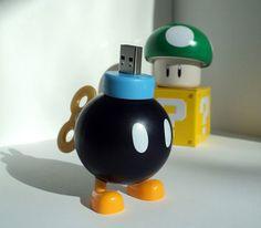 Mario Bomber USB Flash Drive