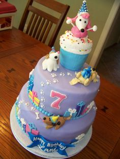 Digging Dog Cake Decoration : 1000+ images about Bichon cake decorating on Pinterest ...