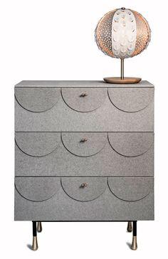 Glimmer la cómoda de fibrocemento diseño de Ania Pauser para Klong   exitospain.es