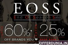 Fashionara End of Season Sale Get upto + Extra off on selected products. The offer is only applicable on the landing page. End Of Season Sale, Brand You, Landing, Neon Signs, Seasons, Stuff To Buy, Products, Seasons Of The Year