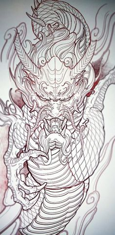 Lessons That Will Get You In The arms of The Man You love Dragon Head Tattoo, Dragon Tattoos For Men, Dragon Sleeve Tattoos, Japanese Dragon Tattoos, Japanese Tattoo Art, Japanese Tattoo Designs, Japanese Sleeve Tattoos, Dragon Tattoo Designs, Tatuajes Irezumi
