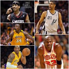 If you were a GM and could create your own dream team with your favourite players who would be in your starting 5? Here's my starting 5..  PG: Allen Iverson SG: Kobe Bryant SF: Michael Jordan #23 PF: Tim Duncan C: Shaquille O' Neal  - AC3