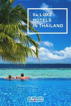 Thailand is een van de topbestemmingen in Azië en dat is niet zonder reden. Het land beschikt over gastvrije mensen, fabelachtige stranden, een heerlijke Thaise keuken én luxe vijfsterren hotels. Luxe staat zonder meer centraal tijdens een verblijf in een van de onderstaande luxe hotels. Thailand, here you come!