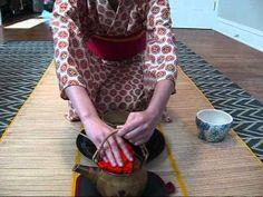 Japanese Tea Ceremony. make tea bowls for a ceramic project