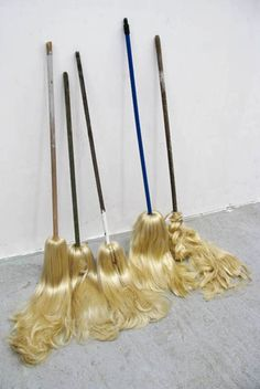 Blonde brooms: unexpected!