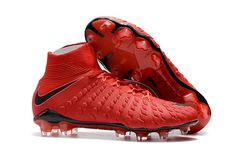 check out bc577 7a212 Nike Hypervenom Phantom III DF Play Fire FG Soccer Cleats University Red  Bright Crimson Black Hyper Crimson