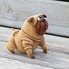 Ermakelena's pug dog Benedict — The pug crochet pattern will be ready end of march.