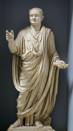 L'emperador romà Titus, Musei Vaticani, Roma Roman emperor Titus, Musei Vaticani, Rome.