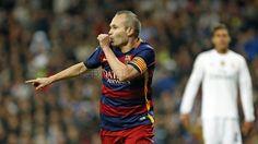 El 0-3 de Iniesta en el Bernabéu | FC Barcelona