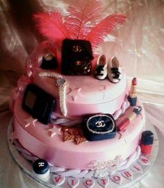 Cute little cake for a teenage girl