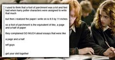 12 Harry Potter Tumblr Posts That Will Make You Rethink Everything #collegehumor #lol