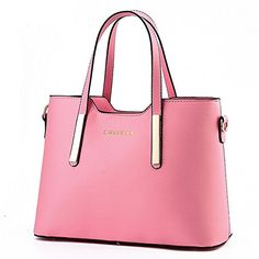 Plovex PU Leather Womens Shoulder Bags Top-Handle Handbag Tote Purse Bag