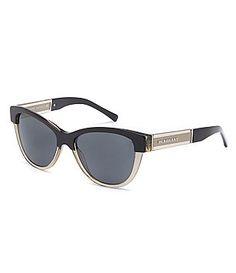 33972dc1b492 Burberry Acoustic Cat-Eye Sunglasses Sunglasses Accessories