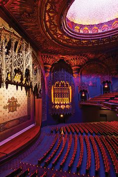 """The """"United Artists"""" Theatre at the Ace Hotel Downtown Los Angeles, California Zippertravel.com Digital Edition"""
