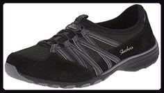 Skechers Damen Conversations Sneaker Schwarz (Bkcc) 36.5 EU / 3.5 UK / 6.5 US