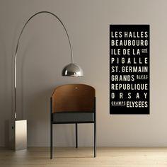 Paris Underground 16x36 $68