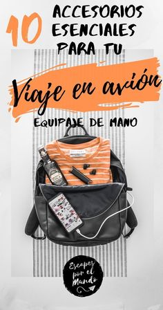 ▷ Los 10 accesorios de viaje esenciales para llevar en el avión - The 10 best accessories that every traveler should carry in their man suitcase, everything you need to make the flight by plane fun an Bags Travel, Work Travel, Cheap Travel, Travel Gifts, Time Travel, China Travel Guide, Colombia Travel, Travel Bottles, London Travel