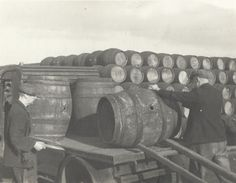 Wonderful old photos of a long lost cooperage in action