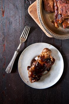Coconut Porter Braised Pork Ribs
