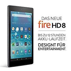 Fire HD 8-Tablet - Bis zu 12 Stunden Akku-Laufzeit. Designt für Entertainment. - Amazon.de