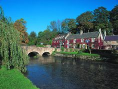 The beautiful Swan Hotel, Bibury, Cotswolds, UK, I had lunch here on a tour of the Cotsworlds - pretty hotel