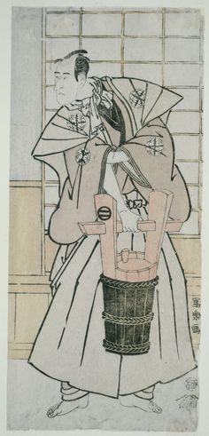 Toshusai Sharaku Japanese, active 1794-95, The Actoe Ichikawa Komazo llI as Nitta Yoshisada, Actually Oyamada Taro Takaie (Sandai-me Ichikawa Komazo no Nitta Yoshisada, jitsuwa Oyamada Taro Takaie)