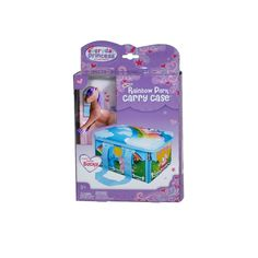 Neat-Oh ZipBin Everyday Princess 40 Pony Rainbow Park with 1 pony