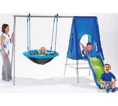 Buy Chad Valley Large Multiplay - Climb, Slide, Hide and Swing at Argos.co.uk - Your Online Shop for Activity centres, Playhouses and activity centres, Outdoor toys, Toys.
