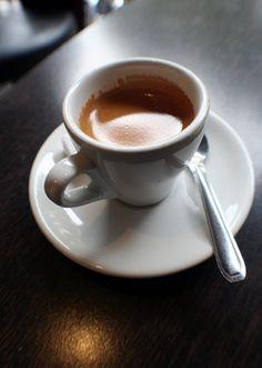 Perfect espresso.