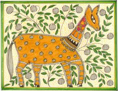 Folk art - not sure what animal this is...