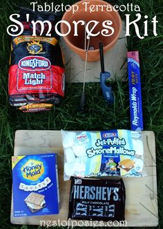 Make S'mores in your own backyard for the kids (and YOU) this weekend!