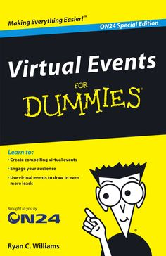 Virtual Events for Dummies by Larry Zimbler via slideshare