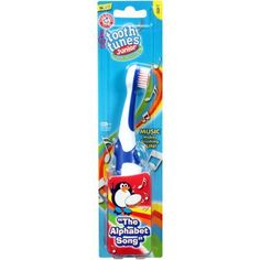 "Arm & Hammerâ""¢ Tooth Tunesâ""¢ Junior Toothbrush 1 ct. Peg, Assorted"