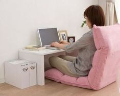 Chair For Bedroom Target - Wooden Chair Office - - Ikea Blue Chair - Chair For Bedroom Desk Japanese Home Decor, Japanese Interior, Japanese House, Floor Desk, Floor Chair, Chair Swing, Do It Yourself Furniture, Home Furniture, Floor Sitting