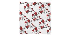 1 SOLD!  http://www.zazzle.com/rose_pattern_bandana-256995356979227479