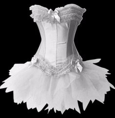 I've always loved the hourglass figure afforded by a properly fitted corset.