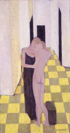 Felice Casorati, Due figure, 1921