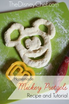 Mickey Pretzel Recip