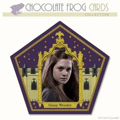 Ginny Weasley | Chocolate Frog Cards ~ Harry Potter