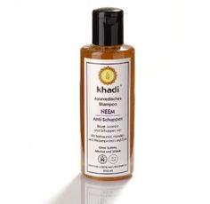 Sampon bio antimatreata cu neem, 210ml, Khadi - Sabedoria Khadi, Henna, Shampoo, Perfume Bottles, Grass, Beauty, Shed, Hennas, Beauty Illustration